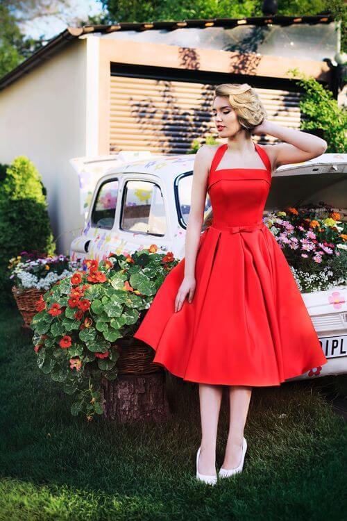 Evening dress Carmelita