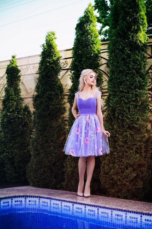 Evening dress Mireille